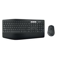 Комплект (клавиатура+мышь) LOGITECH MK850 Perfomance, USB, беспроводной, черный [920-008232]