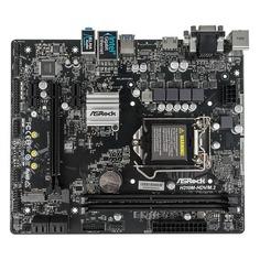 Материнская плата ASROCK H310M-HDV/M.2, LGA 1151v2, Intel H310, mATX, Ret