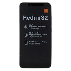 Смартфон XIAOMI Redmi S2 32Gb, серый
