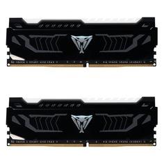 Модуль памяти PATRIOT Viper LED PVLW416G320C6K DDR4 - 2x 8Гб 3200, DIMM, Ret Патриот