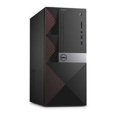 Компьютер DELL Vostro 3667, Intel Core i5 6400, DDR4 4Гб, 1000Гб, Intel HD Graphics 530, DVD-RW, CR, Windows 10 Professional, черный [3667-6287]