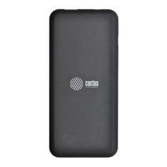 Внешний аккумулятор CACTUS CS-PBHTWL-6000, 6000мAч, черный