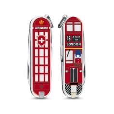 Складной нож VICTORINOX Classic A Trip to London, 7 функций, 58мм [0.6223.l1808]