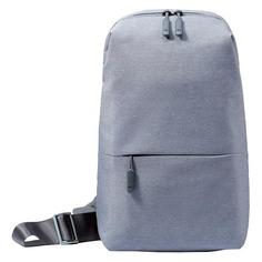 "Рюкзак 10"" XIAOMI Mi City Sling Bag, светло-серый [zjb4070gl]"