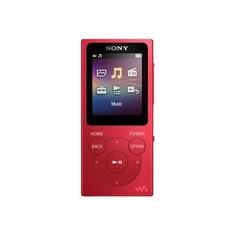 MP3 плеер SONY NW-E394 flash 8Гб красный [nwe394r.ee]