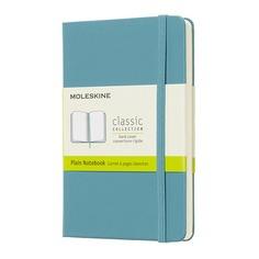 Блокнот Moleskine CLASSIC Pocket 90x140мм 192стр. нелинованный твердая обложка голубой