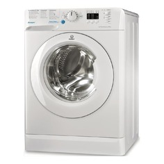 Стиральная машина INDESIT BWSA 51051 1, фронтальная загрузка, белый
