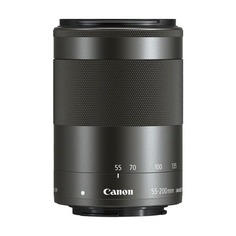 Объектив CANON 55-200mm f/4.5-6.3 EF-M IS STM, Canon EF-M, черный [9517b005]