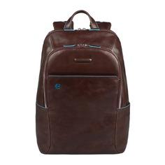 Рюкзак Piquadro Blue Square CA3214B2/MO коричневый натур.кожа