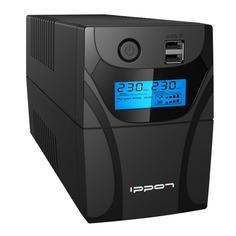 Источник бесперебойного питания IPPON Back Power Pro II Euro 850, 850ВA [1005575]