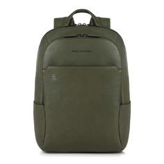 Рюкзак Piquadro Black Square CA3214B3/VE зеленый натур.кожа