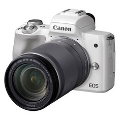 Фотоаппарат CANON EOS M50 kit ( 18-150 IS STM), белый [2681c042]