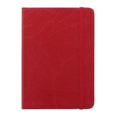 Ежедневник LETTS SOVEREIGN, A6, кремовые страницы, кожа искусственная, красный, 1 шт