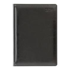 Ежедневник LETTS GLOBAL DELUXE IBIZA, A5, кремовые страницы, кожа натуральная, черный, 1 шт