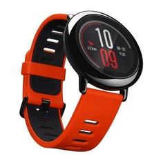 """Смарт-часы XIAOMI Amazfit Pace, 1.34"""", черный / красный"""