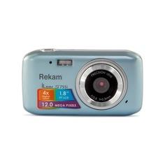 Цифровой фотоаппарат REKAM iLook S755i, серый металлик