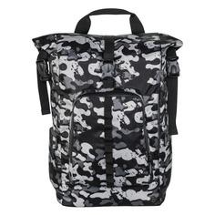 """Рюкзак 15.6"""" HAMA Roll-Top, серый/камуфляж [00101818]"""
