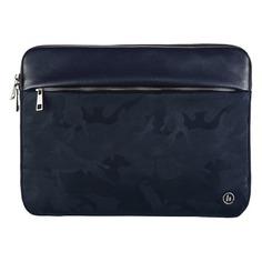 """Чехол для ноутбука 15.6"""" HAMA Mission Camo, синий/камуфляж [00101842]"""