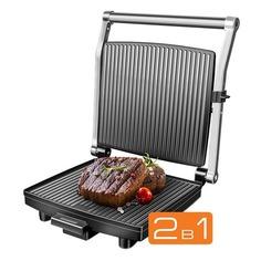 Электрогриль REDMOND SteakMaster RGM-M800, черный и серебристый