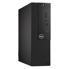 Компьютер DELL Optiplex 3050, Intel Core i3 6100, DDR4 4Гб, 500Гб, Intel HD Graphics 530, DVD-RW, Windows 10 Professional, черный [486-12438]