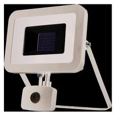 Прожектор уличный ЭРА LPR-50-6500К-М-SEN SMD, 50Вт, с датчиком движения [б0029436] ERA
