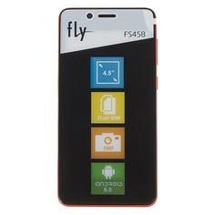 Смартфон FLY Stratus 7 FS458, красный