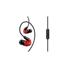 Наушники PIONEER SE-CH5T-R, вкладыши, красный, проводные