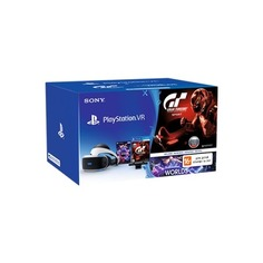 Очки виртуальной реальности Sony PlayStation VR CUH-ZVR1 GT SPORT черный/серебристый