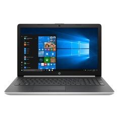 "Ноутбук HP 15-da0026ur, 15.6"", Intel Pentium Silver N5000 1.1ГГц, 4Гб, 500Гб, Intel UHD Graphics 605, DVD-RW, Windows 10, 4GK48EA, серебристый"