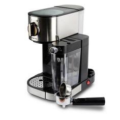 Кофеварка POLARIS PCM 1519AE, эспрессо, серебристый / черный