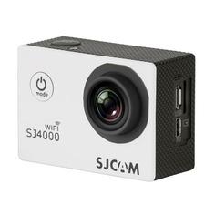 Экшн-камера SJCAM SJ4000 Wi-Fi 1080p, WiFi, белый [sj4000wifiwhite]