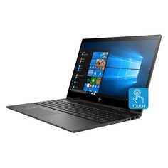 """Ноутбук-трансформер HP Envy x360 15-cn0004ur, 15.6"""", Intel Core i5 8250U 1.6ГГц, 8Гб, 1000Гб, 128Гб SSD, Intel UHD Graphics 620, Windows 10, 4HB43EA, темно-серебристый"""