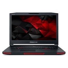 """Ноутбук ACER Predator GX-792-70XS, 17.3"""", Intel Core i7 7820HK 2.9ГГц, 32Гб, 2Тб, 512Гб + 512Гб SSD, nVidia GeForce GTX 1080 - 8192 Мб, Linux, NH.Q1FER.003, черный"""