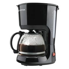 Кофеварка VITEK VT-1528-01, капельная, черный