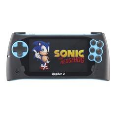 Игровая консоль SEGA Genesis Gopher 2 500 встроенных игр, черный/синий