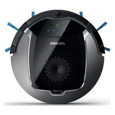 Робот-пылесос PHILIPS SmartPro Active FC8822/01, серебристый/черный
