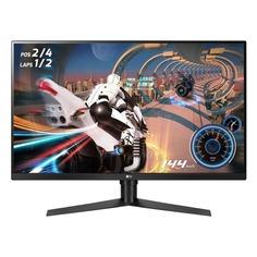 """Монитор ЖК LG Gaming 32GK850F-B 31.5"""", черный/красный [32gk850f-b.aruz]"""
