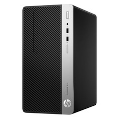 Компьютер HP ProDesk 400 G5, Intel Core i7 8700, DDR4 8Гб, 1000Гб, Intel UHD Graphics 630, DVD-RW, Windows 10 Professional, черный [4nu48ea]