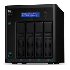 Сетевое хранилище WD MY CLOUD PR4100 WDBKWB0320KBK-EEUE, 32Тб