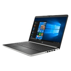 "Ноутбук HP 14-cf0002ur, 14"", Intel Pentium Silver N5000 1.1ГГц, 4Гб, 500Гб, Intel UHD Graphics 605, Windows 10, 4KD43EA, серебристый"