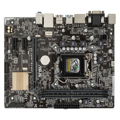 Материнская плата ASUS H110M-A/DP/C/SI, LGA 1151, Intel H110, mATX, Ret (White Box)