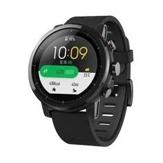 """Смарт-часы XIAOMI Amazfit Stratos, 1.34"""", черный / черный"""