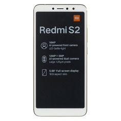 Смартфон XIAOMI Redmi S2 32Gb, золотистый
