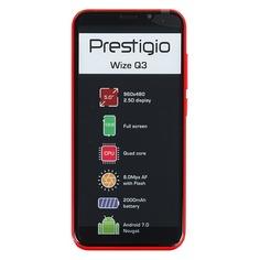 Смартфон PRESTIGIO Wize Q3 красный