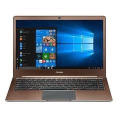 "Ноутбук PRESTIGIO SmartBook 141S, 14.1"", Intel Celeron N3350 1.1ГГц, 3Гб, 32Гб eMMC, Intel HD Graphics 500, Windows 10 Home, PSB141S01ZFH_DB_CIS, темно-коричневый"