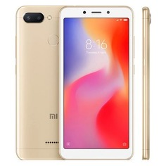 Смартфон XIAOMI Redmi 6 32Gb, золотистый