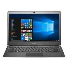 "Ноутбук PRESTIGIO SmartBook 133S, 13.3"", Intel Celeron N3350 1.1ГГц, 4Гб, 32Гб eMMC, Intel HD Graphics 500, Windows 10 Home, PSB133S01CFH_BK_CIS, черный"