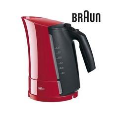 Чайник электрический BRAUN WK300, 2280Вт, красный