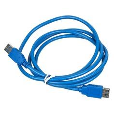 Кабель USB3.0 USB A(m) - USB A(f), 1.5м, синий Noname