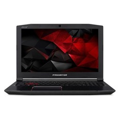"Ноутбук ACER Predator Helios 300 PH315-51-545M, 15.6"", Intel Core i5 8300H 2.3ГГц, 8Гб, 1000Гб, nVidia GeForce GTX 1060 - 6144 Мб, Windows 10 Home, NH.Q3FER.008, черный"